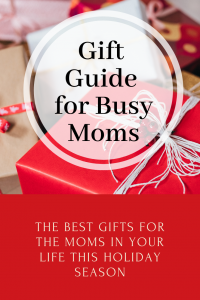 Check out this gift guide for what to get the busy moms in your life for Christmas and this holiday season.
