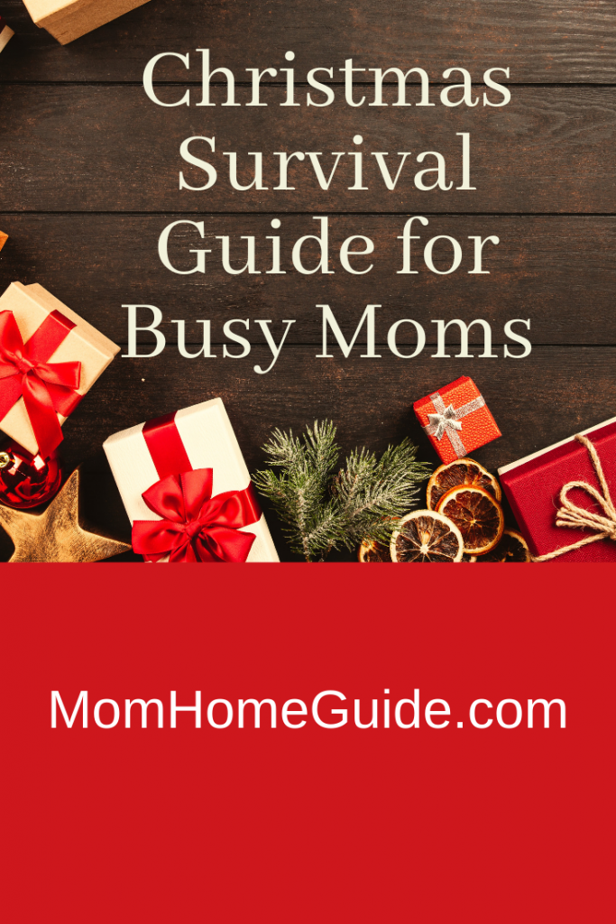 Christmas survival guide for busy moms