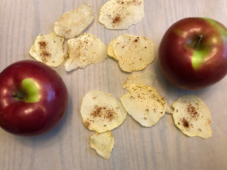 I love this recipe for homemade apple chips!
