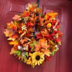 How to Make an Easy 10-Minute Fall Leaves Wreath