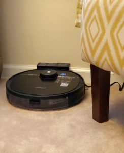 The Ecovacs Deebot Ozmo 950 has its own port where it can charge between cleanings.