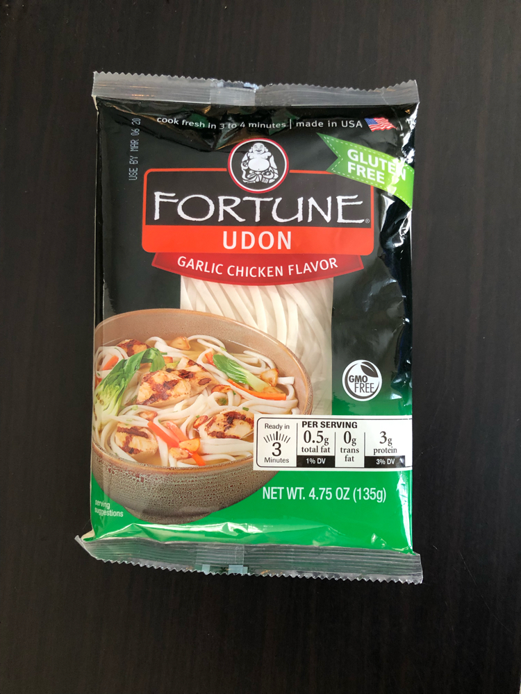 Fortune garlic chicken udon