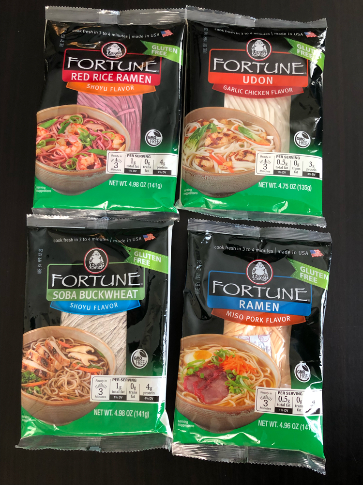 fortune shelf stable noodles by JSL Foods