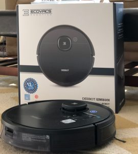 The new Ecovacs Deebot Ozmo 950 is a robotic vacuum and mop all in one.