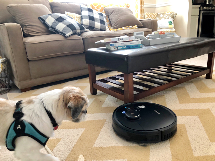 The Ecovacs Deebot Ozmo 950 quietly and efficiently cleans a home without requiring any work by you