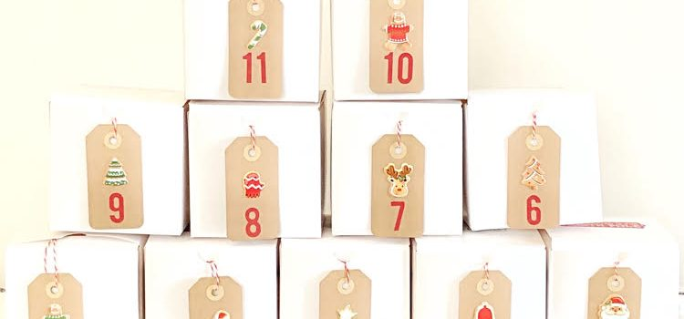 DIY Gift Box Advent Calendar