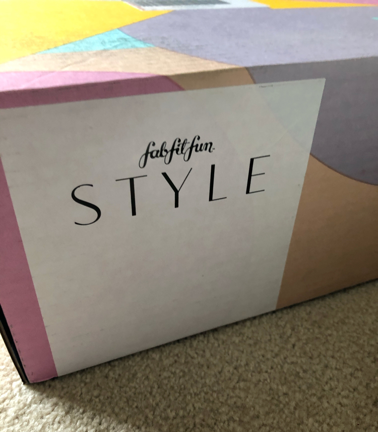 The FabFitFun Style box is a great new subscription box with just a $20 styling fee.