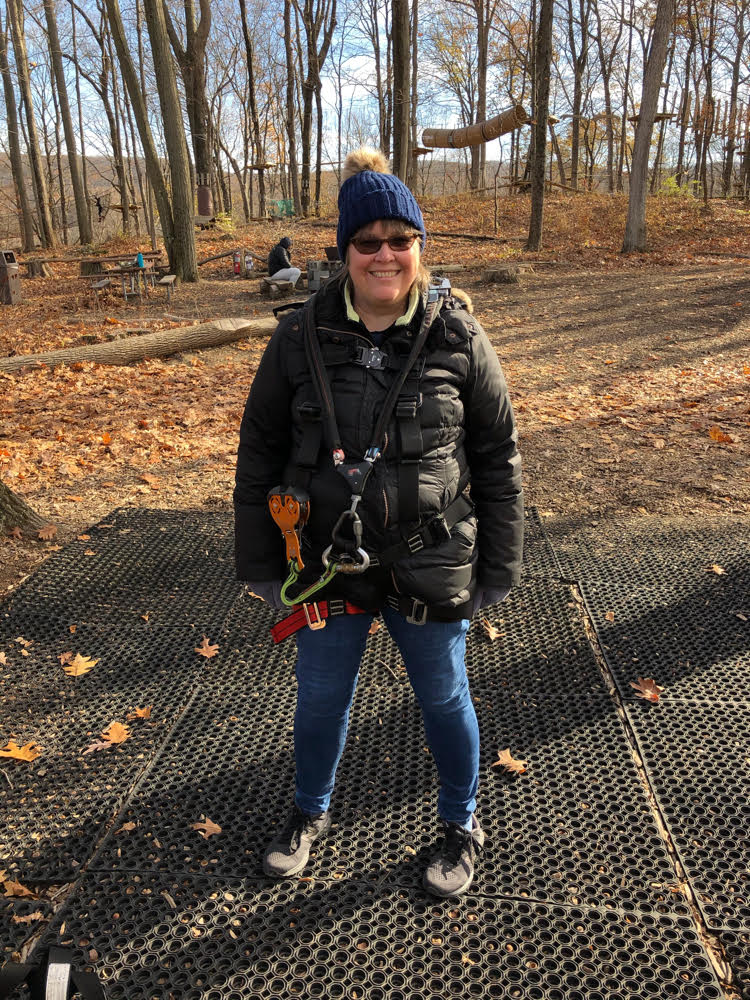 I recently spent a fun day at the TreEscape aerial adventure ropes course at Mountain Creek Resort in Vernon, NJ