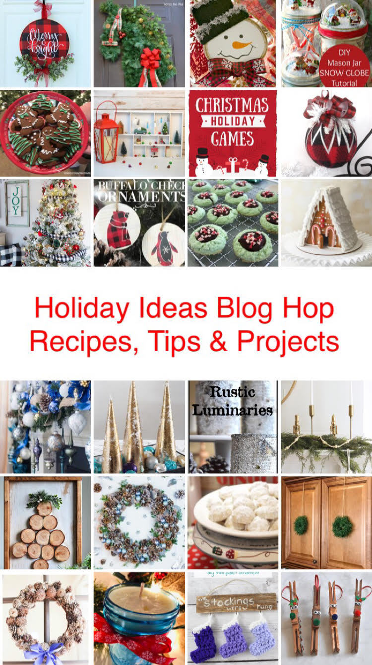 Holiday Ideas Blog Hop - 4 weeks of awesome Christmas recipes, projects and tips