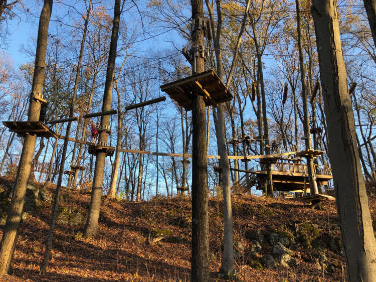 TreEscape Aerial Adventure Ropes Course f