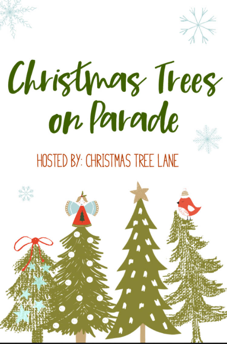 Stop by Christmas Trees on Parade for a wonderful collection of Christmas tree decorating ideas!
