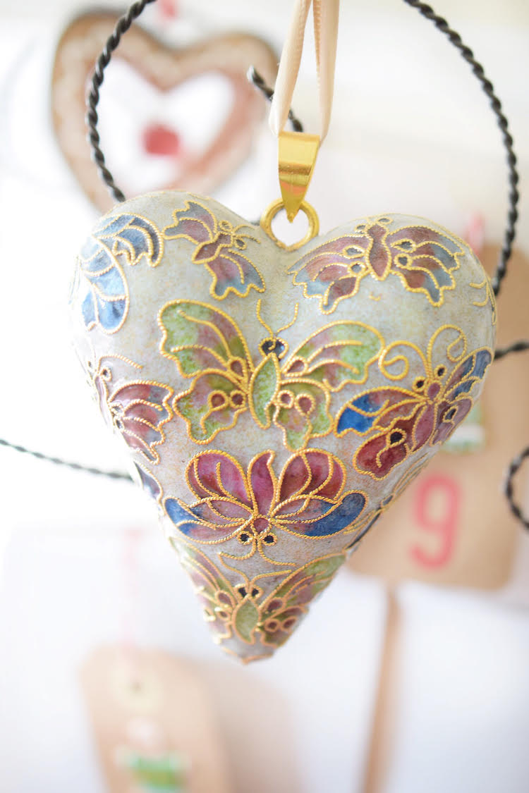 A beautiful heart ornament