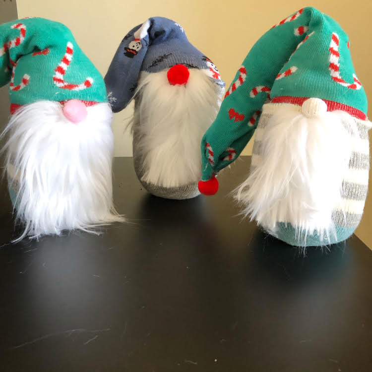 Follow this easy tutorial to make sock gnomes of your own