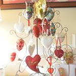 Sentimental Heart Ornament Tree