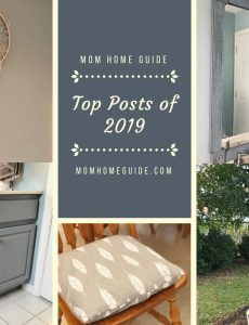 These are the most popular projects on Mom Home Guide in 2019