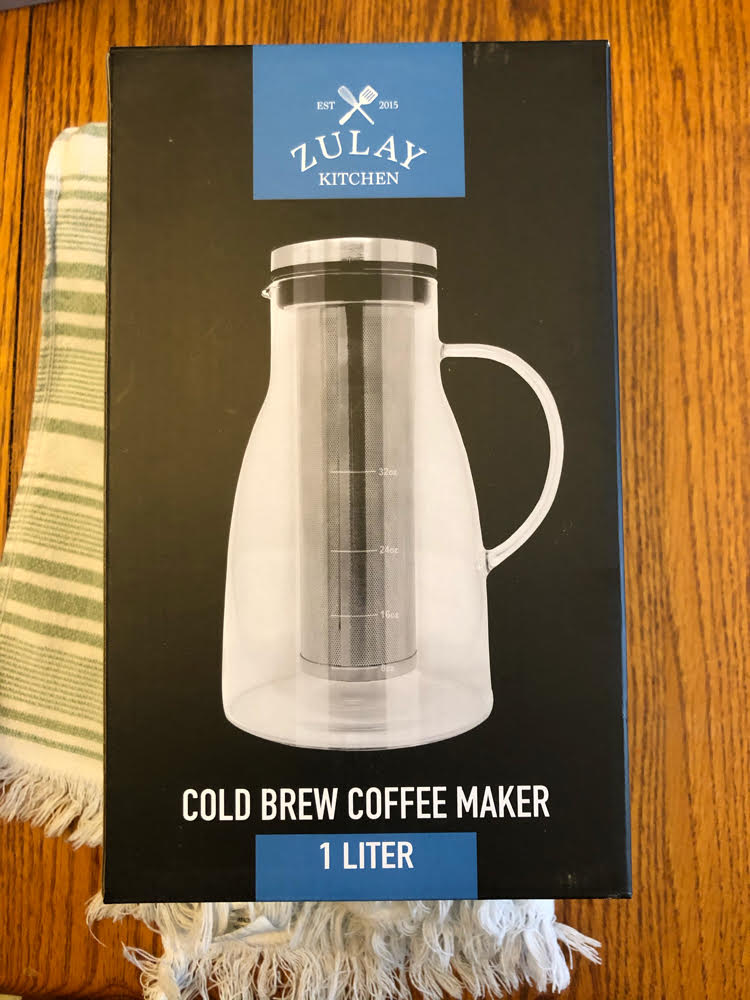 Make cold brews easily with this Cold Brew Coffee Maker by Zulay Kitchen