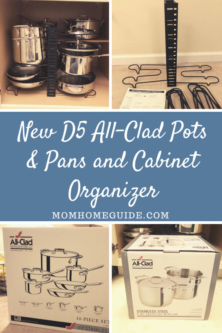 Check out this inexpensive product for getting all your pots and pans organized!