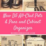New D5 All-Clad Pots & Pans and Cabinet Organizer