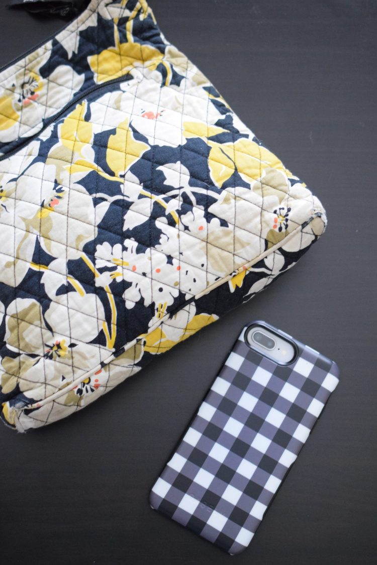 The Check Me Out | Checkerboard ultra-protective phone case by Casely is both pretty and practical!