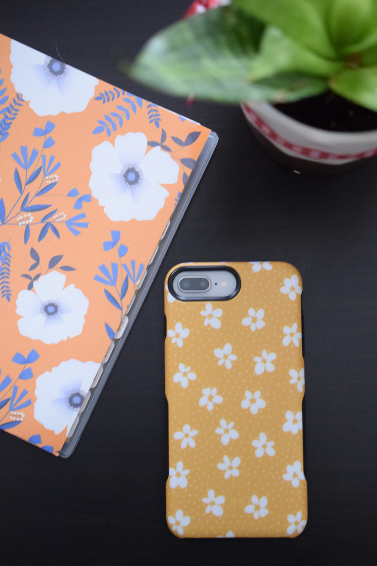 This bright yellow phone case by Casely is as protective for your phone as it is pretty and cute!