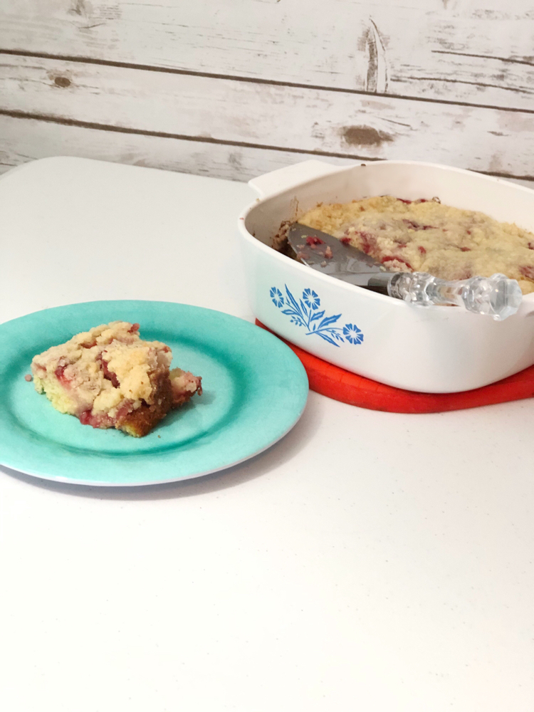 This delicious strawberry coffee cake recipe is so simple to make!