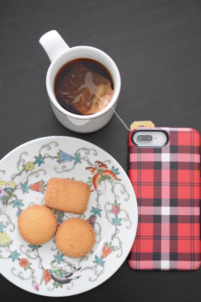 The Bold As If Red Plaid iPhone case from GetCasely.com provides protection from drops, cracks and breakage.