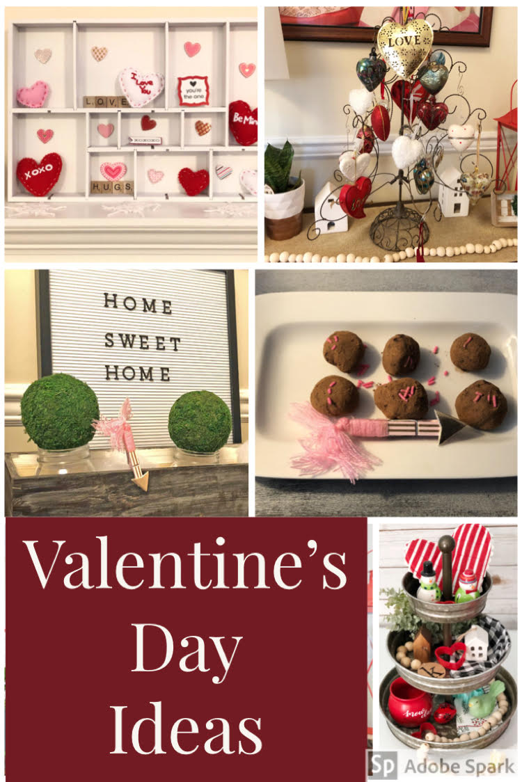 I love these ideas for Valentine's Day decor and sweets!