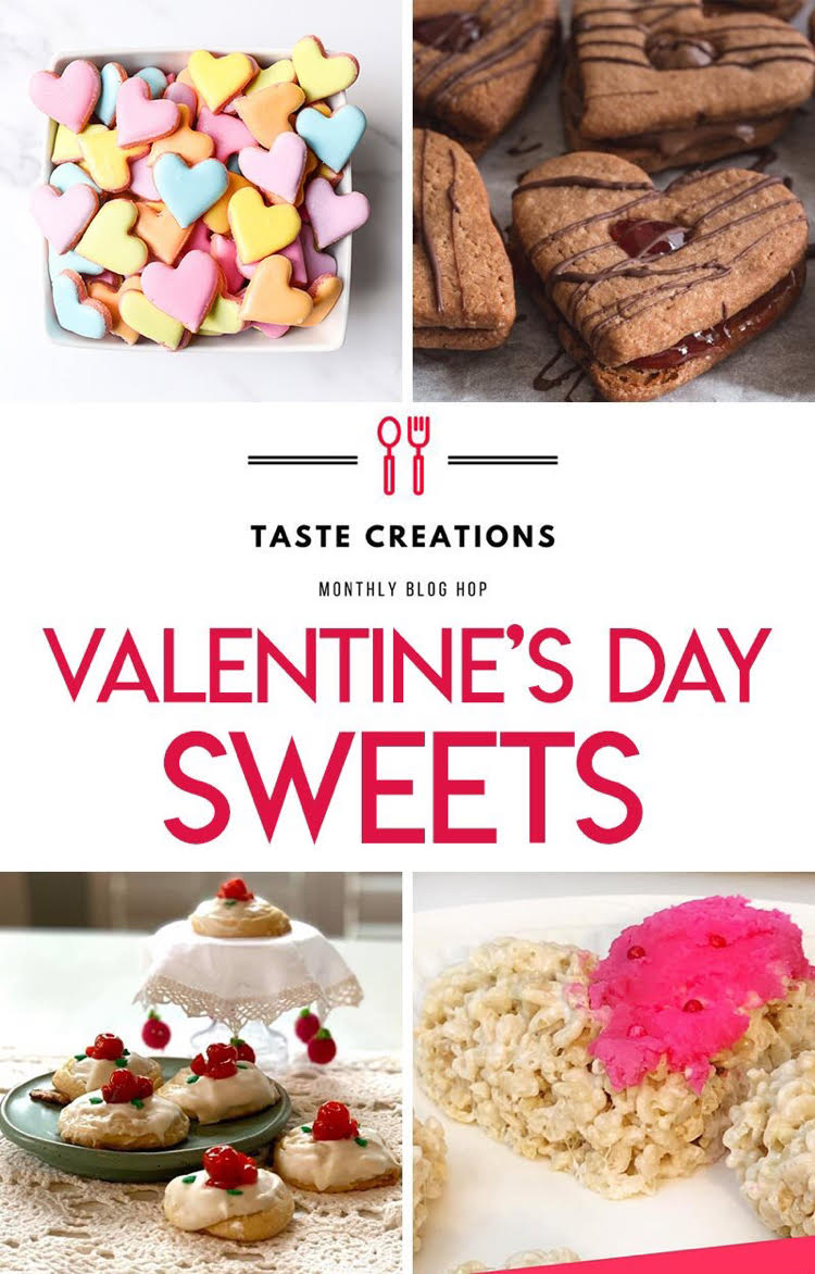 I love these recipes for Valentine's Day treats!
