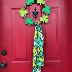 Easy Dollar Store Wreath for St. Patrick's Day
