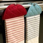 Hanging Kitchen Towel Hack (Spring Pinterest Challenge)