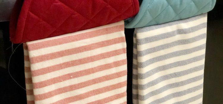Hanging Kitchen Towel Hack (Spring Pinterest Challenge)