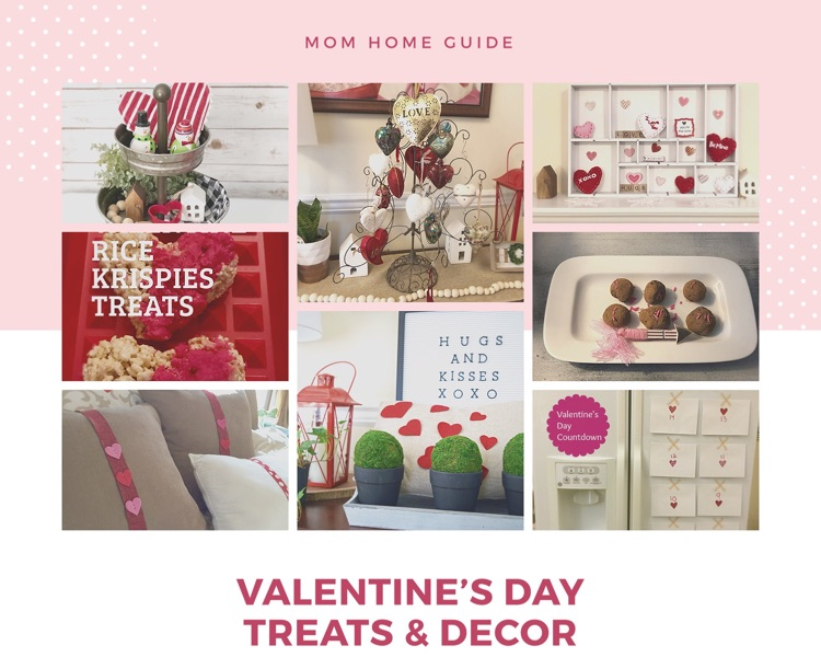 I love these sweet ideas for Valentine's Day decor, crafts and treats!