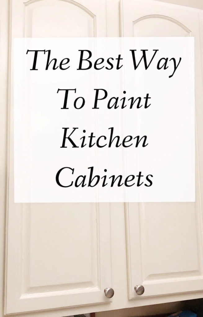 bright white painted kitchen cabients