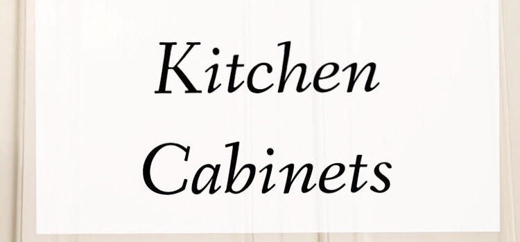 The Best Way to Paint Kitchen Cabinets