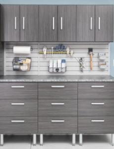 EasyGarage cabinet storage system