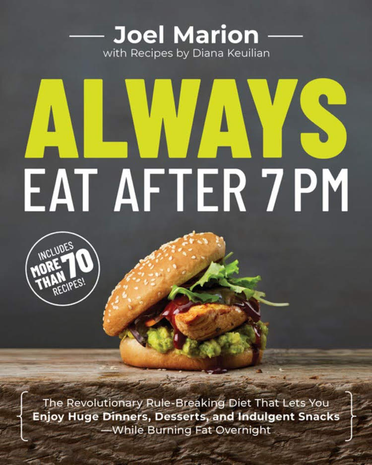 Always Eat After 7 dieting book cover