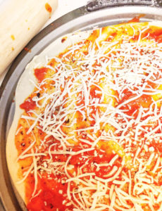 Making delicious homemade pizza at home is super easy with a bread machine.