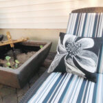 Readying a Patio for Summer (Plus Water Feature)