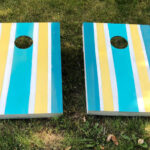 DIY Painted Cornhole Boards