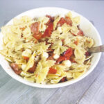 Pasta Salad with Roasted Peppers and Mozzarella