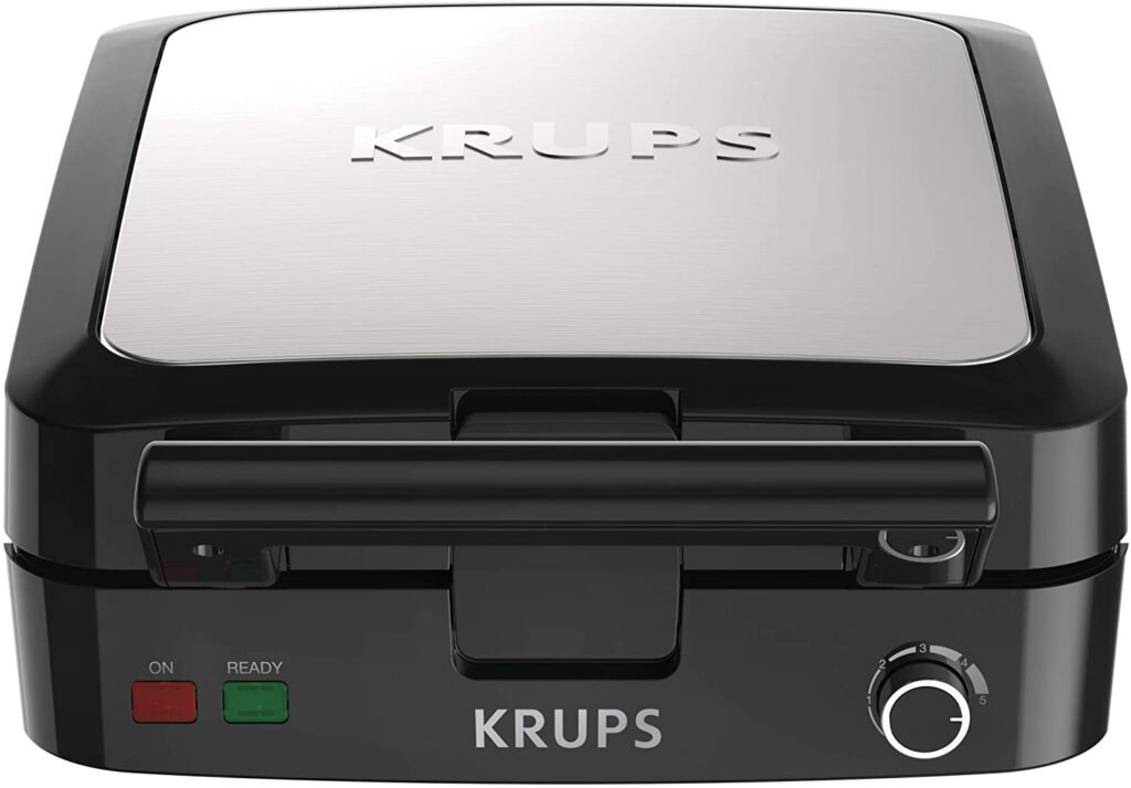 Krups waffled maker with removable plates