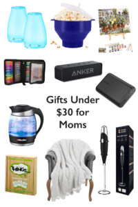 Amazon gift ideas for moms under $30