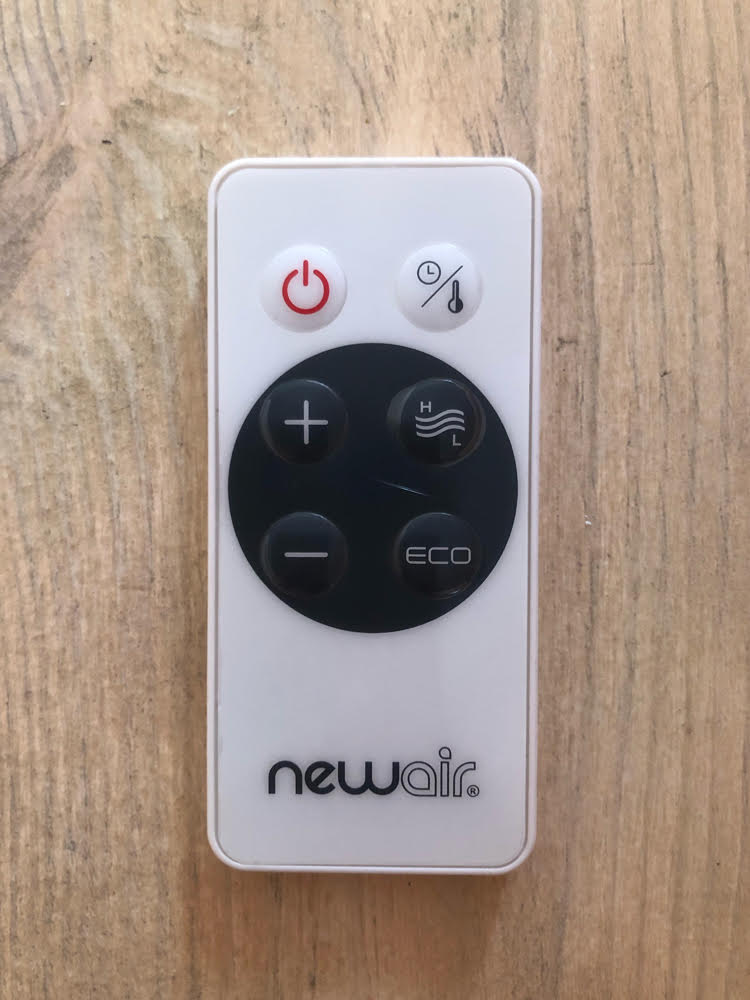 NewAir Whole Room Heater, Whisper Quiet, remote
