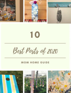 best craft, recipe and project posts on Mom Home Guide in 2020.