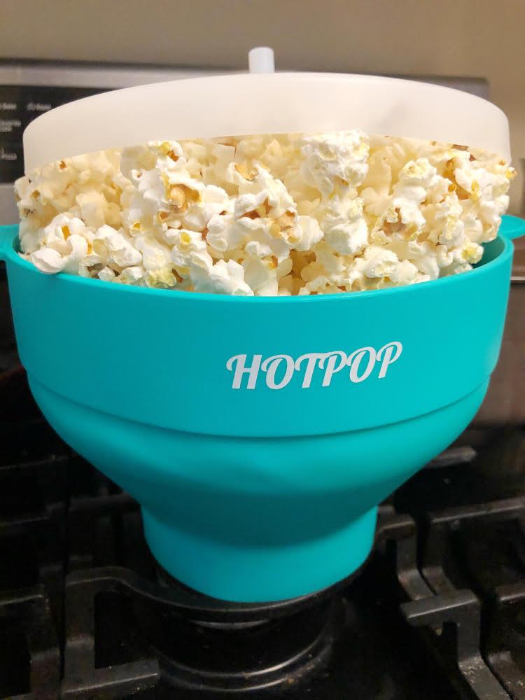 aqua hotpop microwave popcorn popper
