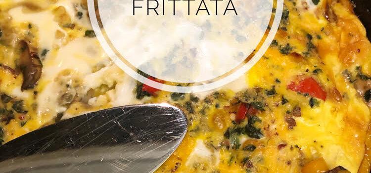 Easy Weeknight Veggie Frittata