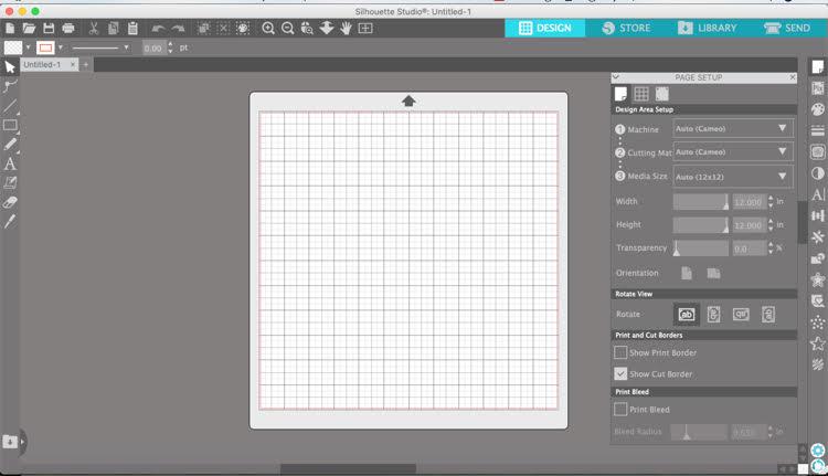 Silhouette Cameo software
