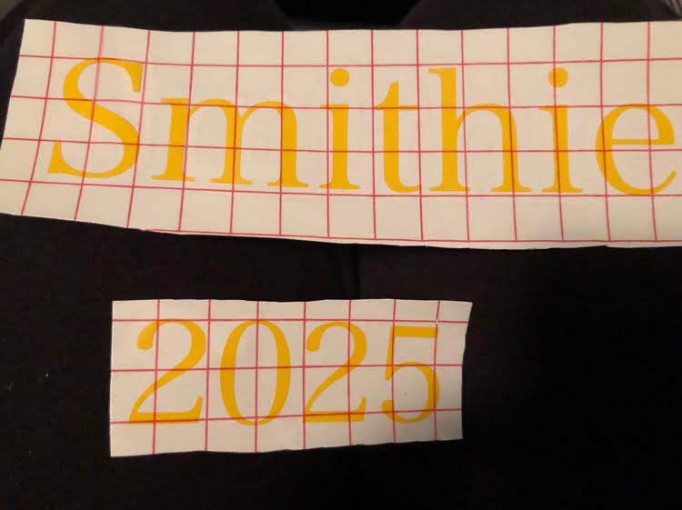 Smithie 2025 laptop sticker