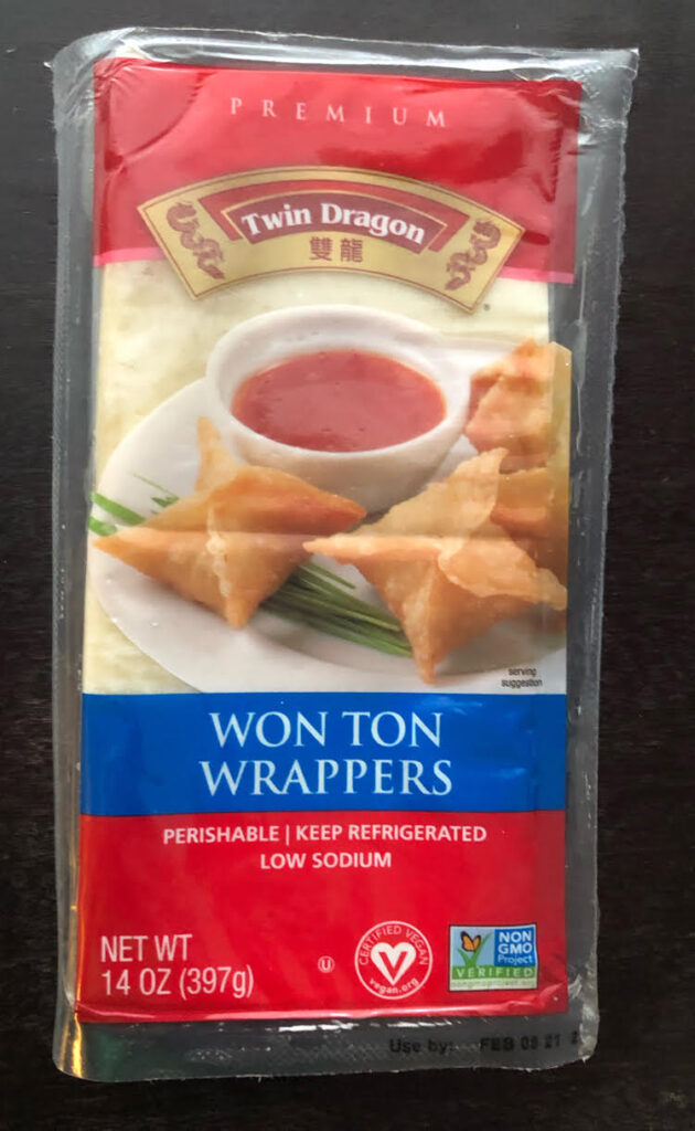 Twin Dragon Won Ton Wrappers are versatile and can be used in lots of recipes.