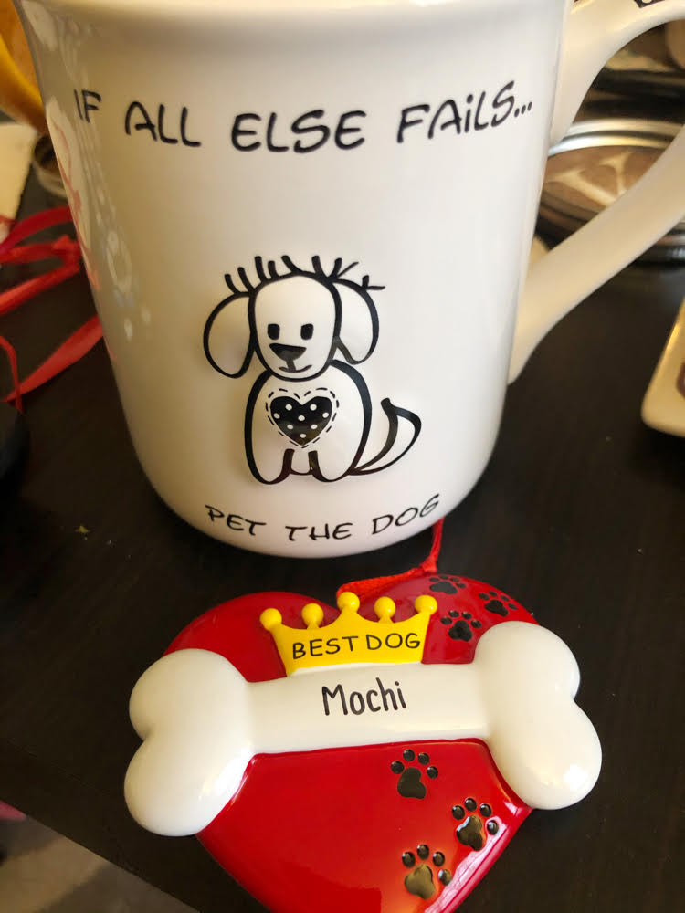 If All Else Fails Pet the Dog Mug, and cute personalized dog ornament